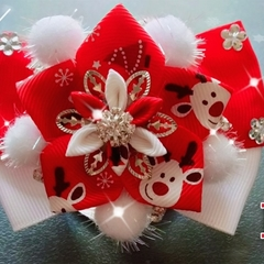Stunning Handmade Christmas  Bow tie