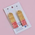 Bamboo sticks Earrings