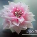Stunning lotus hairclip