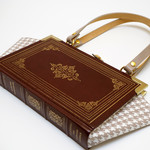 Marlowe and Shakespeare - Elizabethan Drama - Bag made from a book