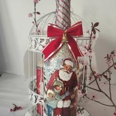 Santa light Bottle