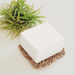 ROSE, SHEA & MANGO White Clay natural soap - pure essential oils