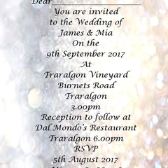 Gold and silver bokeh  print at home invitations