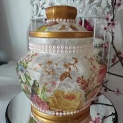 Vintage storage jar