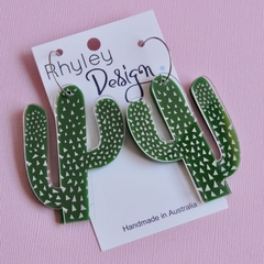 Statement Cacti Earrings