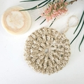Hemp Crochet Puffy Bath Pouf - Shower Sponge
