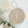 Body Shower Spa Bath Set - 6 pcs - Crochet Hemp Yarn - Handmade