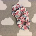 Premium Scrunchy - Jo Proust gum flower design