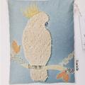 White Cocky Organic Wheat Bag - Mixed media cockatoo