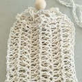 Crochet Hemp Soap Saver Bag - Soap Pouch - Reusable