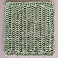 Kitchen Dish Cloth - Crochet - Reusable - Cotton - Hemp Yarn