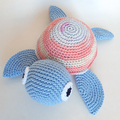 Sea turtle, Crochet soft toy turtle, Sea theme room decor