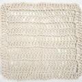 Kitchen Dish Cloth - Body Wash Cloth - Crochet Hemp Yarn - Reusable