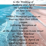 Beach Themed print at home Invitations