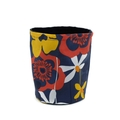 Fabric Planter Pot Basket Bin for Indoor Plants Succulents - Retro Floral
