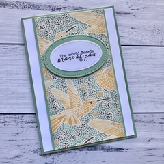 Hummingbird Blank Any Occasion Card