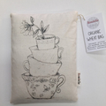 Teacups Organic Wheat Bag