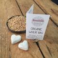 White Cocky Organic Wheat Bag