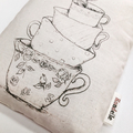 Teacups Organic Wheat Bag