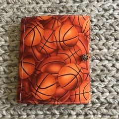 Basketballs notepad set