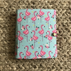 Flamingos notepad set