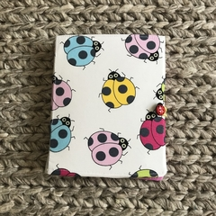 Colourful ladybugs notepad set