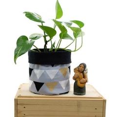 Fabric Planter Pot Basket Bin for Indoor Plants Succulents - Bunting