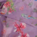 Lilac Parrot Scarf
