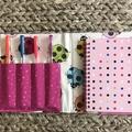 Colourful ladybugs notepad set