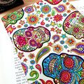 Sugar Skulls Fabric Padded Book Sleeve