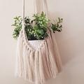 Gorgeous Cream Macrame Plant Hanger