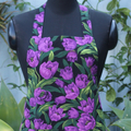 Classic Style Apron in Gorgeous Tulip Fabric