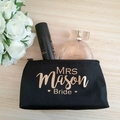 Personalised Makeup  bag, Bridesmaid gift idea, Teacher gift, Gift for Teen