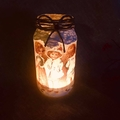 Christmas Themed  Jar