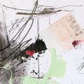 Abstract mixed media art - It's Complicated
