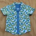 Boy's Button up Shirt - Divine White - Size 3