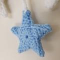 Blue & White Dream Wreath Nursery Decor