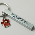 Handstamped,Dog Tags, Pet Tag, Pet ID Tag, Pet Name - Personalized - Handstamped