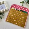 A4 Reading folder -  Mustard Fox