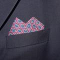 Handkerchief - Men's Large 40 x 40cm Liberty of London, Seth Rankine