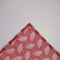 Handkerchief - Men's Large 40 x 40cm Liberty of London, Paisley Feathers