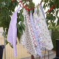 Handkerchief - Ladies 30 x 30cm Liberty of London, Miranda Sky