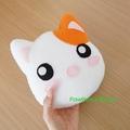Cat Mini Pillow Plush  Soft Toy Nursery Home Decor Birthday Christmas Gift
