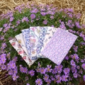 Handkerchief - Ladies 30 x 30cm Liberty of London, Jenny & Steve
