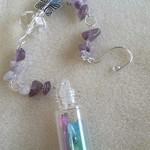 Guardian Angel 👼  Sun catcher 🌞 Wish 💫 Bottle Ornament ~ No. 1