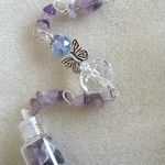 Guardian Angel 👼 Sun catcher 🌞 Wish 💫 Bottle Ornament ~ No. 7