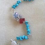 Guardian Angel 👼 Sun catcher 🌞 Wish 💫 Bottle Ornament ~ No. 12