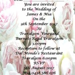 Peonies print at home Wedding Invitation