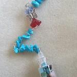 Guardian Angel 👼 Sun catcher 🌞 Wish 💫 Bottle Ornament ~ No. 11