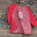 Art smock for 3 - 4 year old - Owl